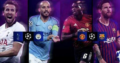 Así quedaron los 4tos de final de Champions League.